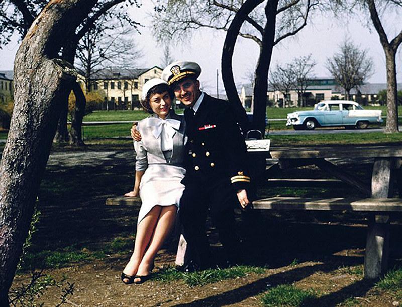 Mom & Dad, Circa 1958