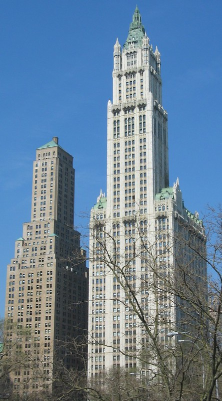 Woolworth Building and his little brother