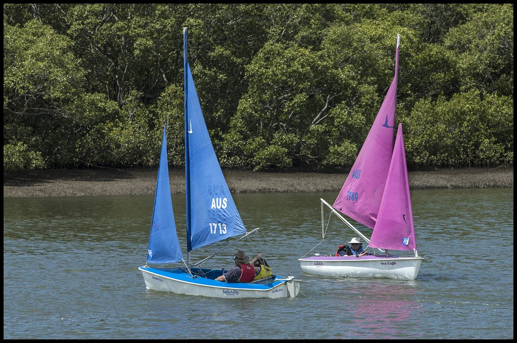 Handicapped children having a sail at Shorncliffe-10=