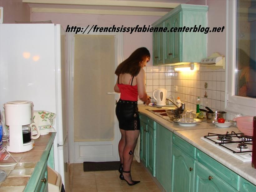 salope a la cuisine
