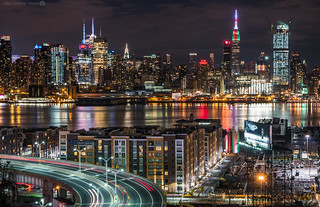 NYC Skyline on Christmas Eve | by RyanKirschnerImages