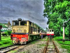 Treni a Yangon - Yangon Railways