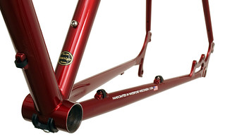Gunnar Fastlane in Candy Red - Chainstay Detail | by Gunnar Cycles