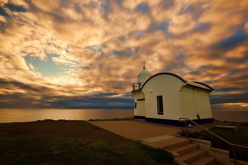 lighthouse seascape australia newsouthwales aus portmacquarie midnorthcoast nikon1635mmf4 paulhollins nikond750
