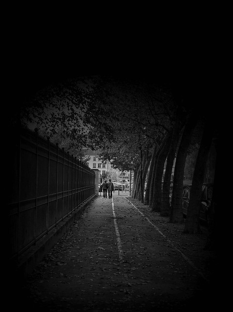 # In the shadow....