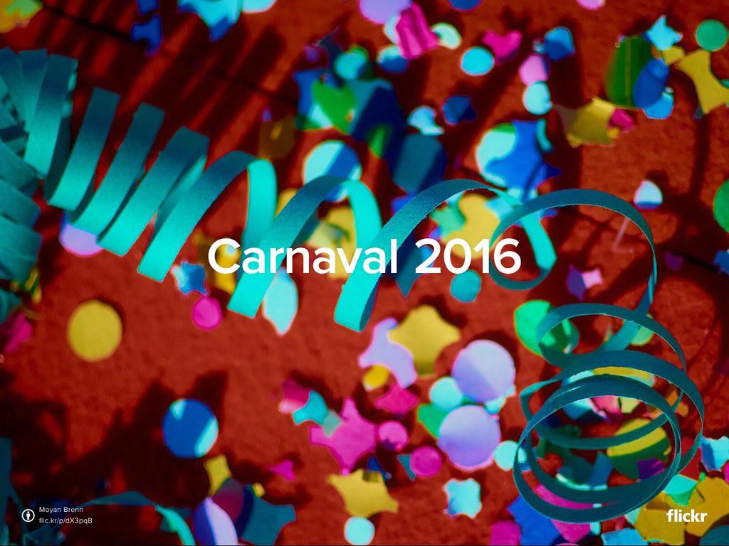 Carnaval Flickr 2016