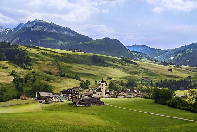 Swiss Landscape Remixed