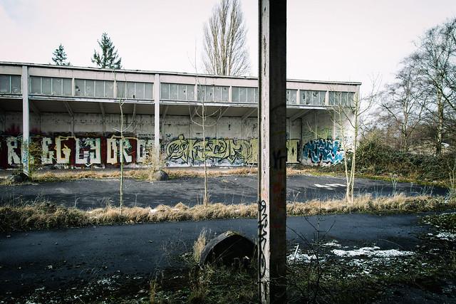 abandoned army barracks germany