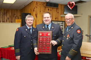 Kevin Manzer, officer of the year | by digby fire dept