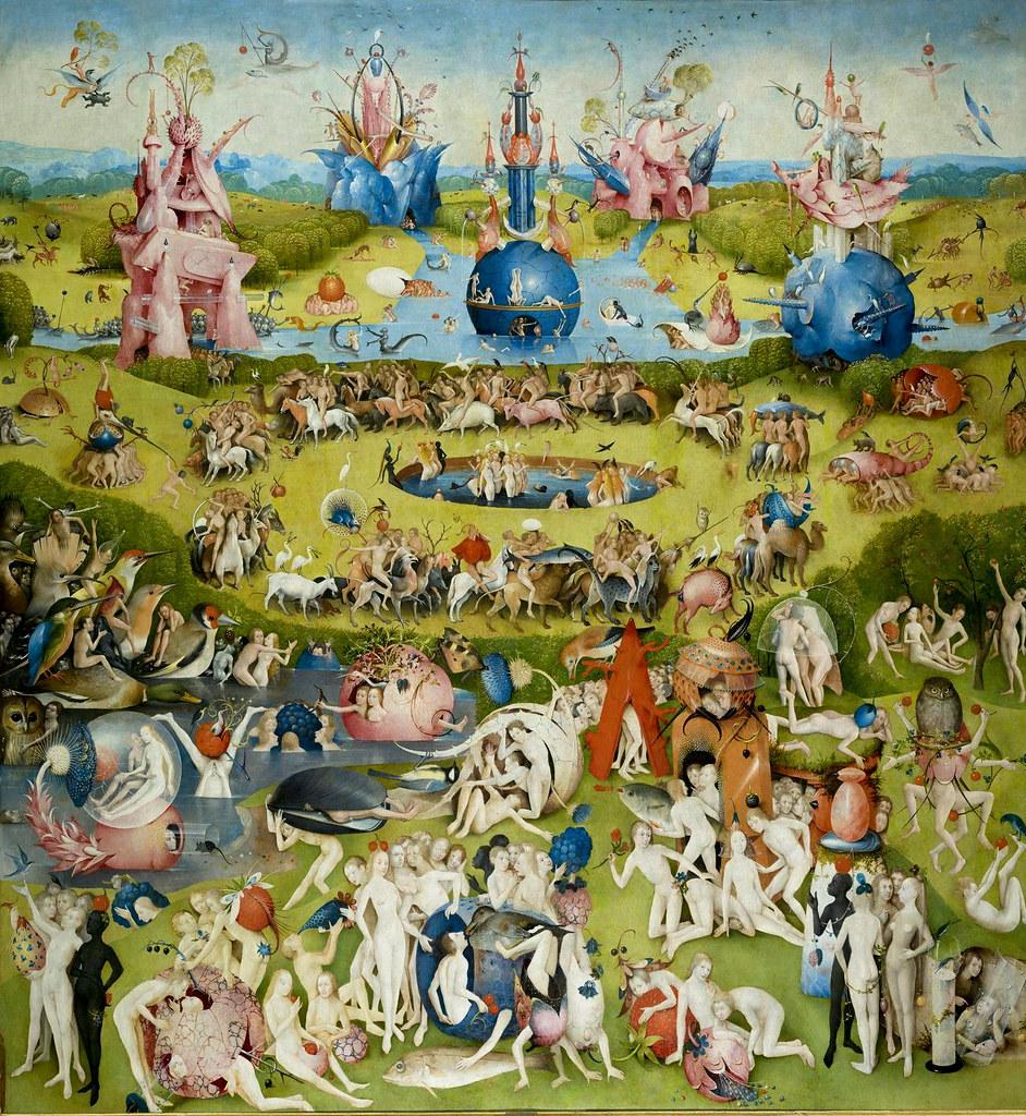 Hieronymus Bosch Der Garten Der Lüste Mittelteil The G Flickr
