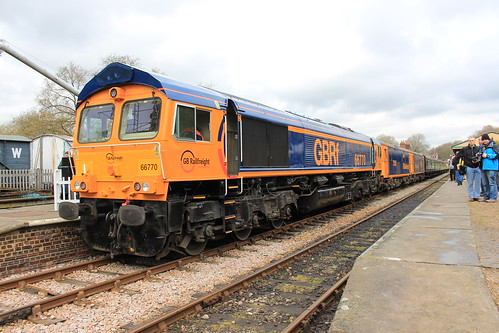 Bluebell Diesel Gala with GBRf 16th April 2016   by Railwide