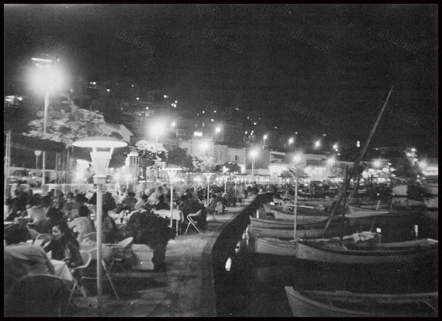 """Μικρολίμανο (Τουρκολίμανο), Πειραιάς 1970's. Φωτογραφία από το βιβλίο του Διονυσίου Πανίτσα """"Ο άρχοντας του Πειραιώς""""."""