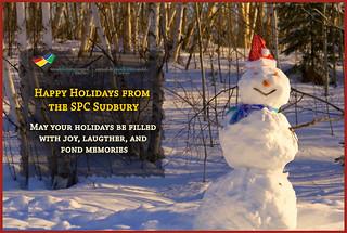 Happy Holidays from the SPC Sudbury