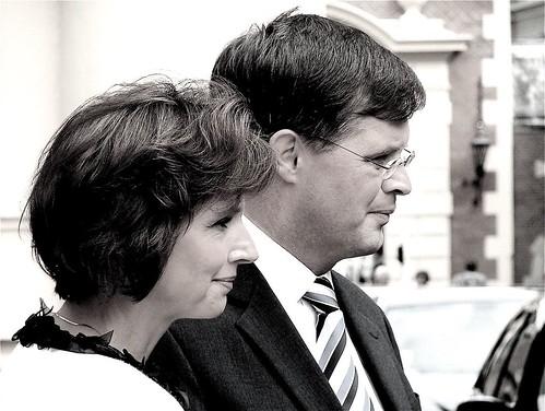 Bianca Hoogendijk  en  Jan Peter Balkenende | by Roel Wijnants