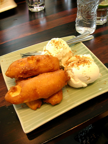 people's palace fried bananas with coconut ice cream | by chotda