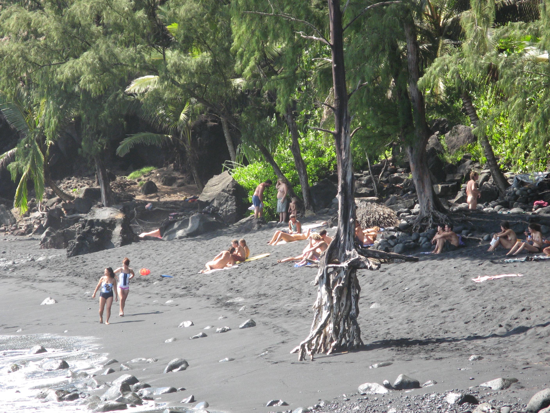 Big island nude places