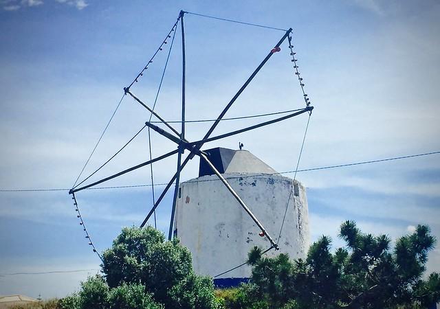 Windmill missing its sails