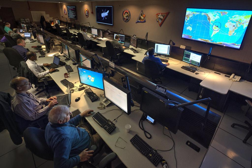 Hubble Space Telescope Control Room   NASA Goddard Space Flight