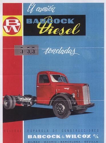 Camió Babcock Diesel de 5,5 Tn.