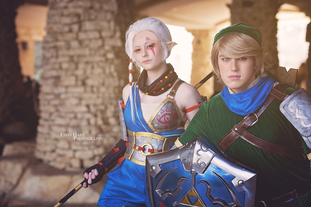 Impa Link Legend Of Zelda Hyrule Warriors Andy Flickr