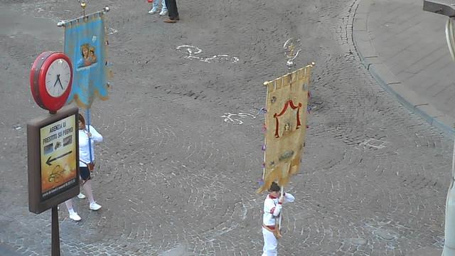Popular procession of