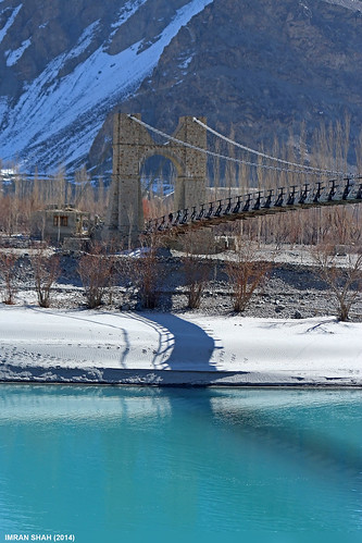 bridge trees pakistan snow mountains ice water canon river landscape geotagged rocks structures tags location elements vegetation tele khaplu ghanche gilgitbaltistan canoneos650d imranshah canonefs55250mmf456isii gilgit2