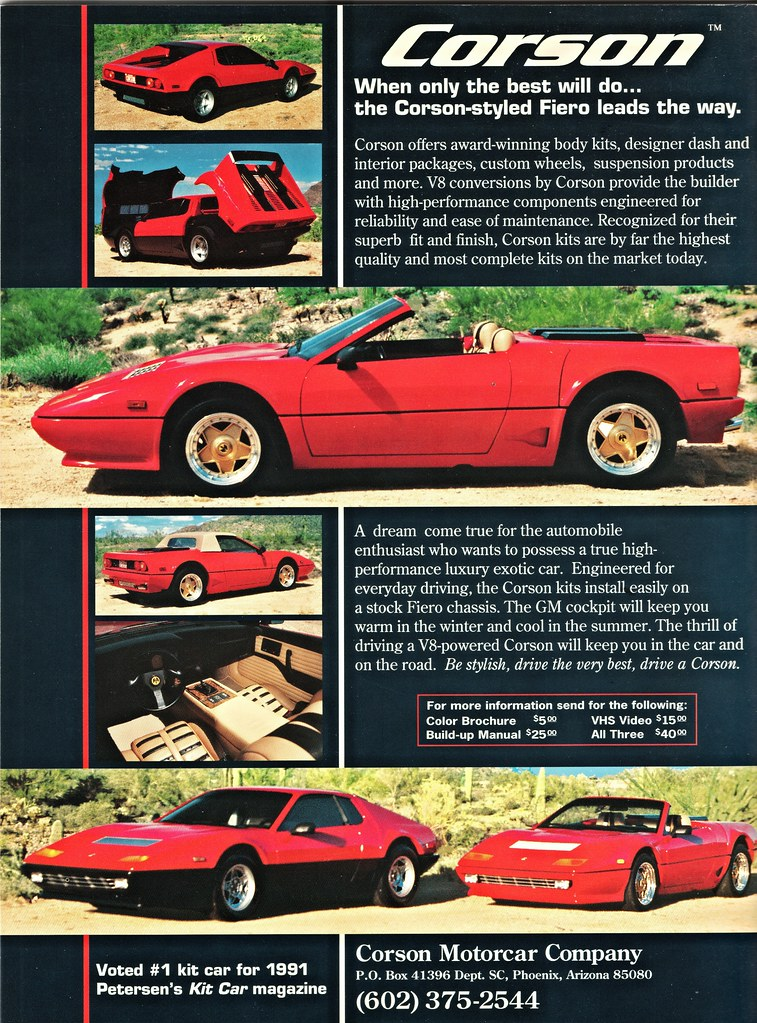 1991 Corson Kit Cars Alden Jewell Flickr