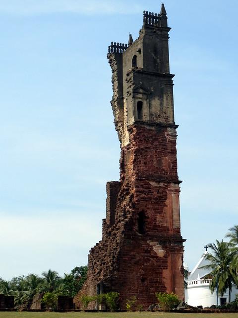 Ruins of St. Augestin Church, Old Goa, India