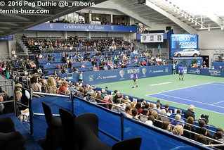 Stadium court before the doubles final | by plduthie