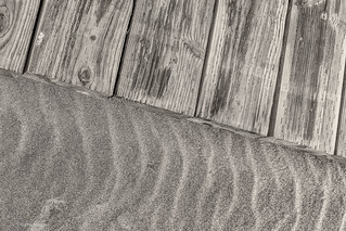 Sand and wood - Kew Beach boardwalk  meets the sand | by Phil Marion