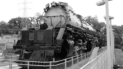 844steamtrain up union pacific 4023 big boy 4884 steam locomotive biggest largest heaviest cliche saturday metal machine transportation photography travel tourism adventure events alco train engine railroad railway canon powershot sx40 hs digital video camera hdr flickr flickrelite black white america science technology history lauritzen gardens kenefick park omaha nebraska most popular views viewed favorite favorited redbubble youtube google trending relevant