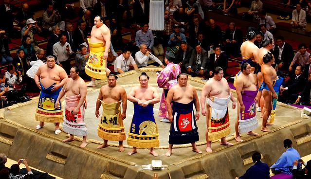 Sumo  Dohyō-iri