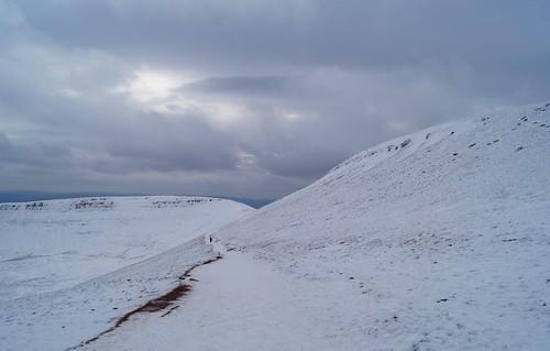 Pen Y Fan in snow | by harry.blytheallen