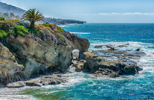 california seascape stone landscape coast arch natural pacificocean montage coastline lagunabeach absolutelystunningscapes