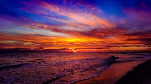 sky photography northcarolina sunrisesunsetsceniccloudsbeach beachoceansurfwavesseasand