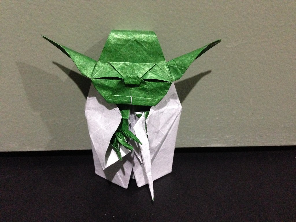 Easy Origami Yoda Instructions - How to make Star Wars origami ... | 768x1024