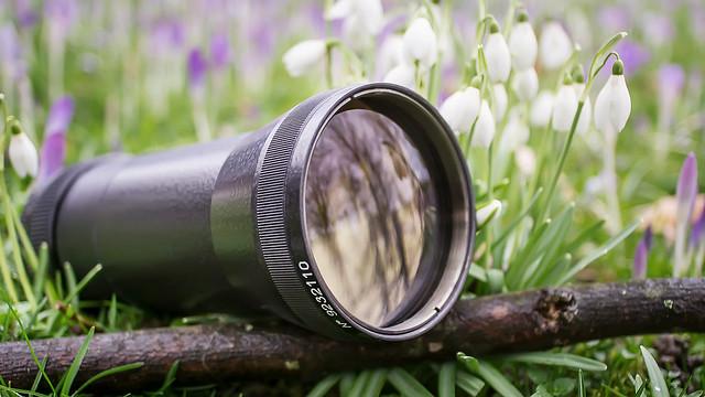 LOMO KO-120M 120mm ƒ/1.8 Petzval projection lens, SONY E-mount converted
