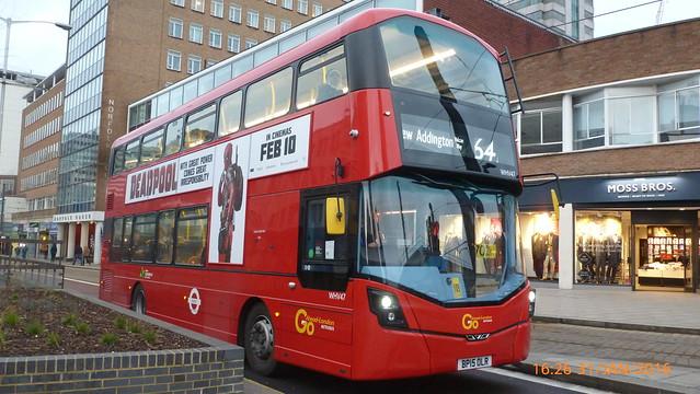 P1390148 WHV47 BP15 OLR at Wellesley Road East Croydon London