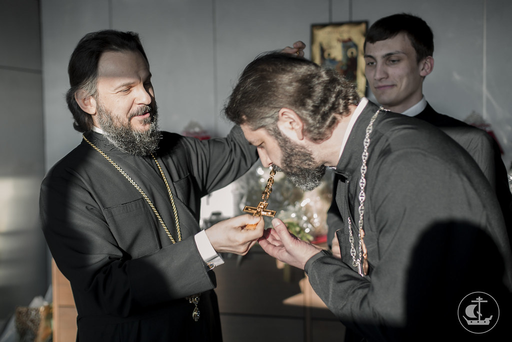 7 апреля 2016, 50 лет протоиерею Михаилу Браверману / 7 April 2016, The fiftieth anniversary of Archpriest Mikhail Braverman