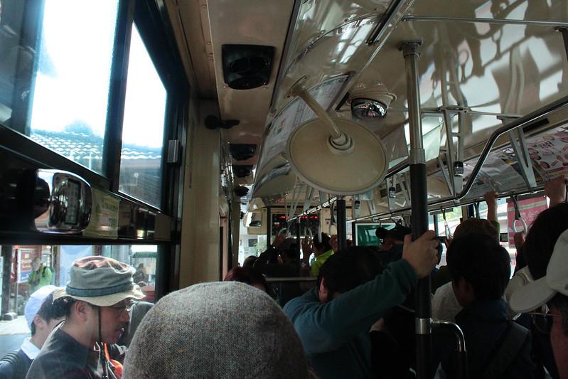 奥多摩駅からバスに乗る