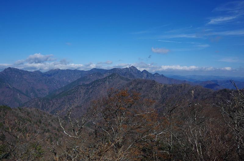 大峰山の展望