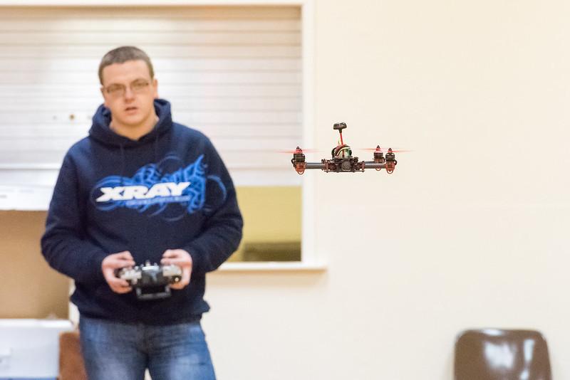 Dave flying his Vortex 285.