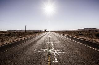 open road, marathon   by adam*b