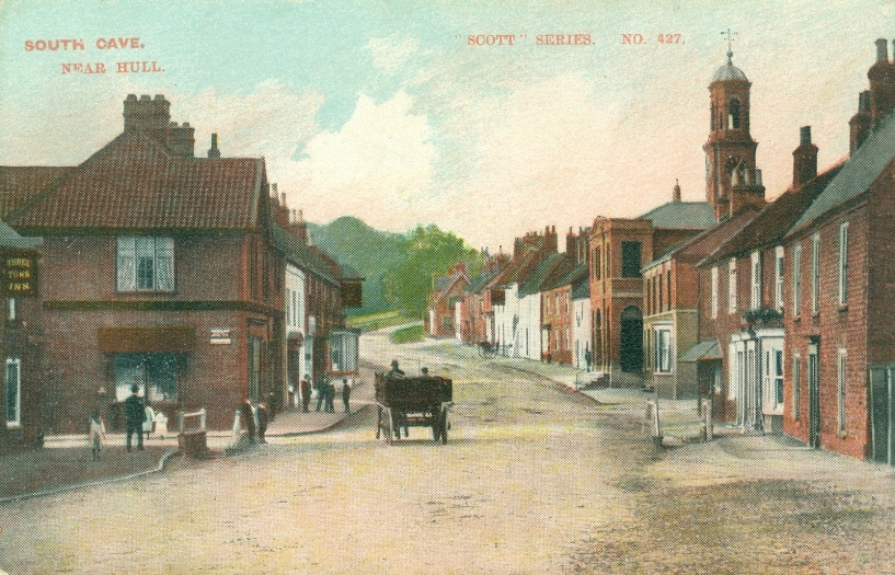 Market Place, South Cave 1900 (archive ref PO-1-127-15)