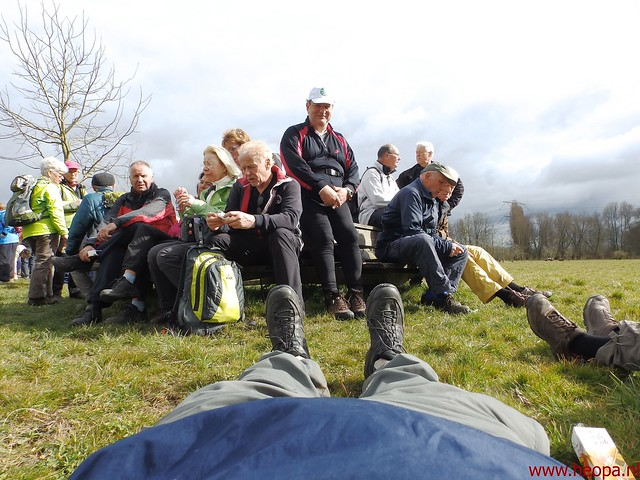 2016-03-23 stads en landtocht  Dordrecht            24.3 Km  (126)
