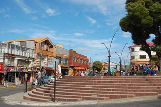 Plaza in Ancud, Chiloé, Chile | by blueskylimit