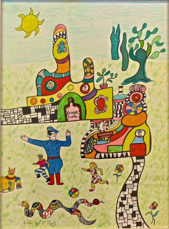 Méchant, Méchant (1993) - Niki de Saint Phalle ( 1930 - 2002)