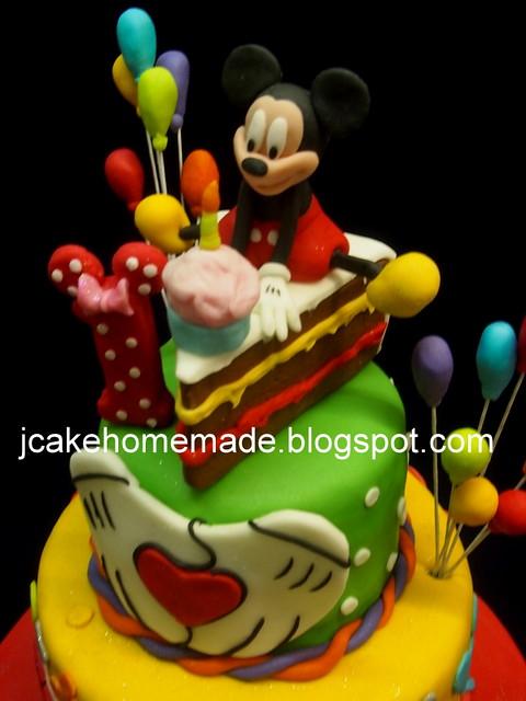 Mickey Mouse birthday cake米奇蛋糕