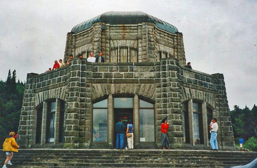 statepark usa mountain building field station stone architecture oregon vintage point landscape photo site highway view outdoor or hill scenic columbia historic hwy ridge observatory vista historical crown block register mountainside pioneers comfort crownpoint grassland multnomah attraction oregonstate corbett foothill vistahouse scenicdrive multnomahcounty nrhp memoral onasill gorgeld