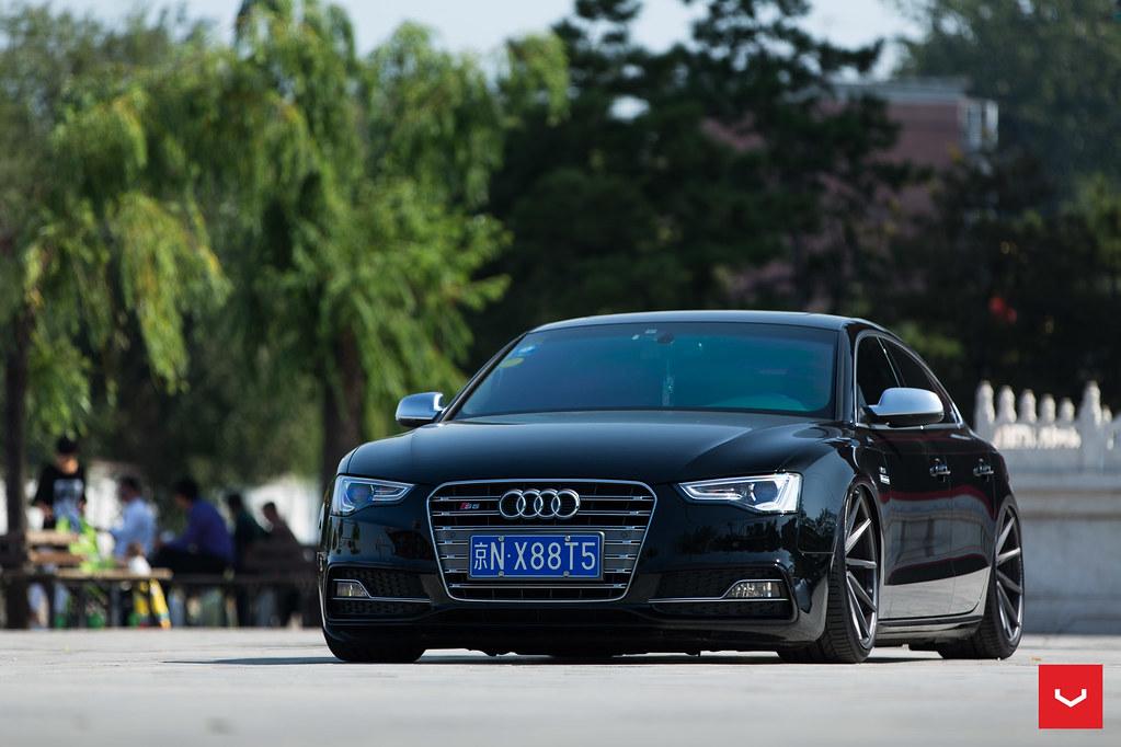 Audi A5 Sportback - Vossen CVT Directional Wheels - © Voss